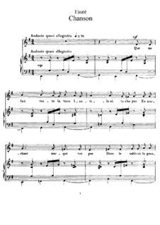 Lied, Op.94: Lied by Gabriel Fauré