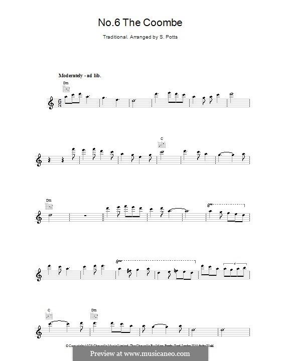 No.6 The Coombe: Für Stimme und Klavier (oder Gitarre) by folklore