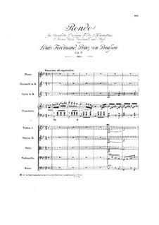 Rondo B-dur, Op.9: Rondo B-dur by Louis Ferdinand Prince of Prussia