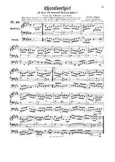 Choralvorspiel 'O dass ich tausend Zungen hätte': Choralvorspiel 'O dass ich tausend Zungen hätte' by Gustav Flügel