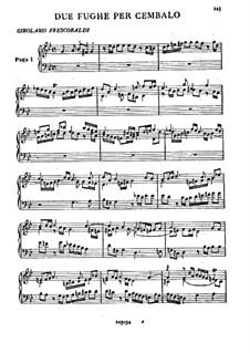 Zwei Fugen: Vollsammlung by Girolamo Frescobaldi