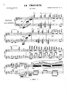 Fantasie über Thema aus 'La Traviata' von Verdi, Op.98: Fantasie über Thema aus 'La Traviata' von Verdi by Adolfo Fumagalli