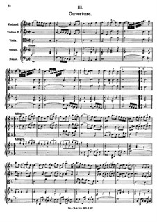 Ouvertüre in F-Dur, K.354: Ouvertüre in F-Dur by Johann Fux