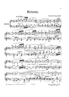 Nokturne, Op.26: Nokturne by Vincent d' Indy