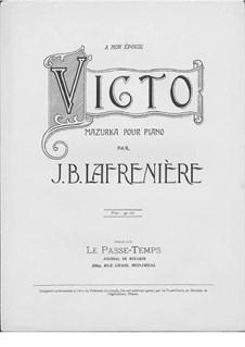 Victo. Mazurka: Victo. Mazurka by Jean-Baptiste Lafrenière