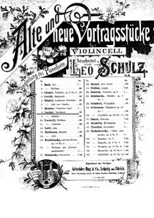 Sarabande für Cello und Klavier: Sarabande für Cello und Klavier by Jean-Marie Leclair