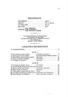 Andromède: Bearbeitung für Stimmen und Klavier by Guillaume Lekeu