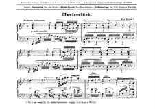 Sechs Stücke. Nr.1 in B-Dur, Op.12: Sechs Stücke. Nr.1 in B-Dur by Max Bruch