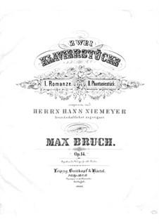 Zwei Stücke, Op.14: Nr.1 Romanze by Max Bruch
