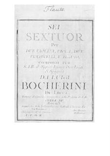 Sechs Divertissements, G.461-466: Sechs Divertissements by Luigi Boccherini