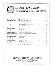 Verset de Procession: Verset de Procession by Léon Boëllmann