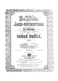 Im Walde, Op.25: Für Klavier, vierhändig by Ignaz Brüll
