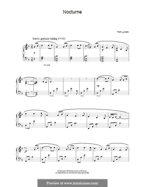 Nocturne: Für Klavier by Rolf Løvland