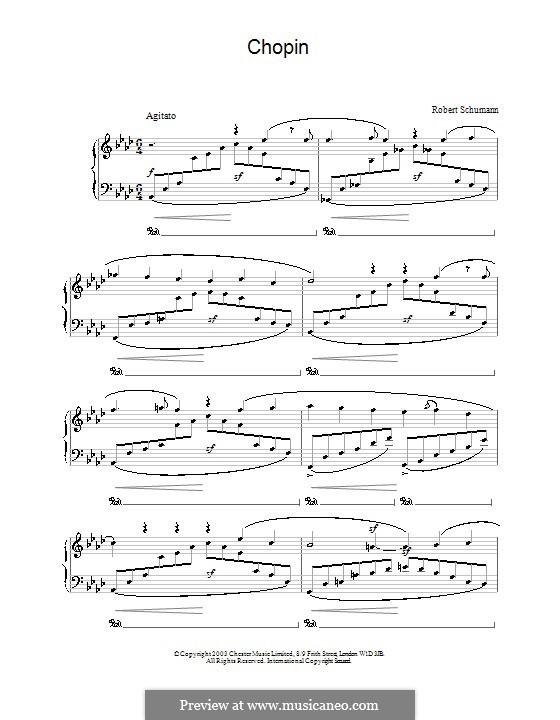 Karneval, Op.9: Nr.12 Chopin by Robert Schumann