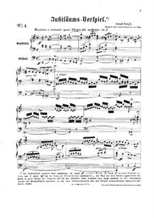 Jubiläums-Vorspiel No.1: Jubiläums-Vorspiel No.1 by Josef Krejčí