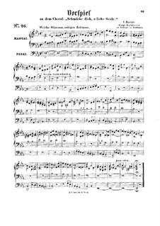 Vorspiel zu dem Choral 'Schmücke dich, o liebe Seele': Vorspiel zu dem Choral 'Schmücke dich, o liebe Seele' by Carl Kuntze