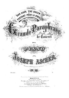 Grande Paraphrase de Concert, Op.50: Grande Paraphrase de Concert by Joseph Ascher