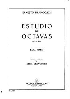 Oktaven-Studien, Op.21: Etüde Nr.1 by Ernesto Drangosch