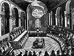 A session of the Council of Trent