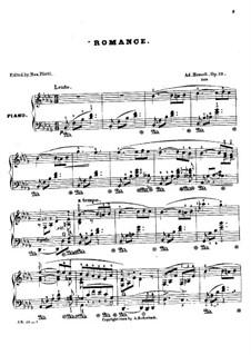 Romance, Op.10: romantico by Adolf von Henselt