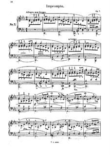 Impromptu, Op.7: Improviso by Adolf von Henselt