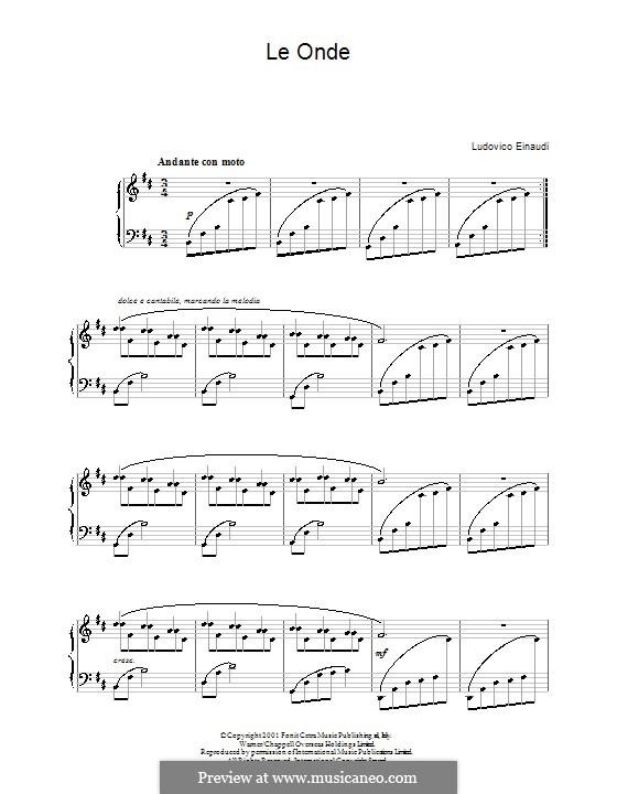 Le Onde: Para Piano by Ludovico Einaudi