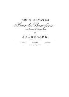 Two Sonatas for Piano Trio, Op.34: Two Sonatas for Piano Trio by Jan Ladislav Dussek