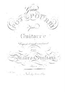 Grand Potpourri for Guitar, Op.31: Grand Potpourri for Guitar by Mauro Giuliani