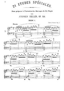 Vingt et un études techniques, Op.154: Vingt et un études techniques by Stephen Heller