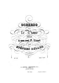 Scherzo No.2, Op.24: Scherzo No.2 by Stephen Heller