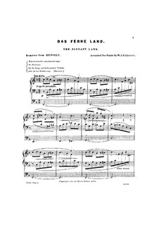 Distant Land, Op.26: Distant Land by Adolf von Henselt