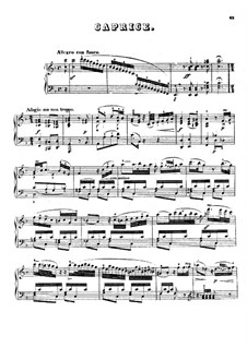 Caprice in F Major, Op.49: Caprice in F Major by Johann Nepomuk Hummel