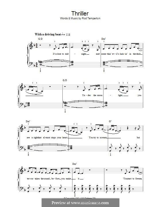 Vocal-instrumental version: Facil para o piano by Rod Temperton