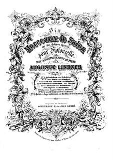 No.4 Ständchen (Serenade): For piano and cello by Franz Schubert