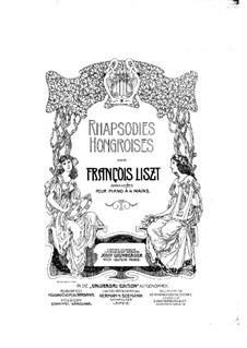 No.16 in A Minor, S.244: para piano de quadro mãos by Franz Liszt