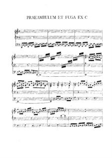 Preamble and Fugue in C Major: Preamble and Fugue in C Major by Vincent Lübeck