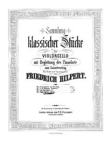 Gavotte: para Violoncelo e piano by Giovanni Battista Martini