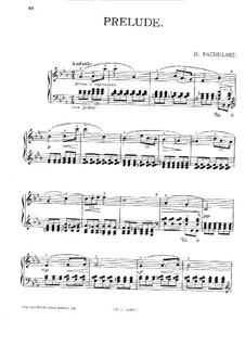 Prelude: Prelude by Henryk Pachulski