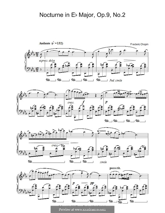 No.2 in E Flat Major: Para Piano by Frédéric Chopin