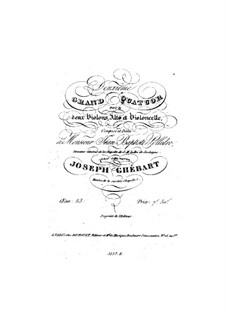 String Quartet No.2 in G Minor, Op.53: String Quartet No.2 in G Minor by Giuseppe Ghébart