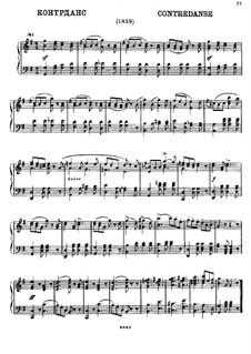 Five Contredanses: Five Contredanses by Mikhail Glinka