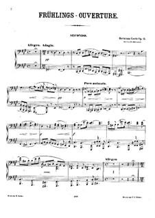 Spring Overture, Op.15: Spring Overture by Hermann Goetz