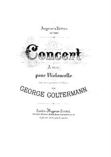 Cello Concerto No.1 in A Minor, Op.14: Cello Concerto No.1 in A Minor by Georg Goltermann