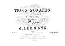Sonata No.1 'Pontificale': Sonata No.1 'Pontificale' by Jacques-Nicolas Lemmens