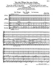 Symphonic Poem No.13 'From the Cradle to the Grave', S.107: Symphonic Poem No.13 'From the Cradle to the Grave' by Franz Liszt