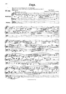 Fugue in E Minor: fuga em E menor by Karl Piutti