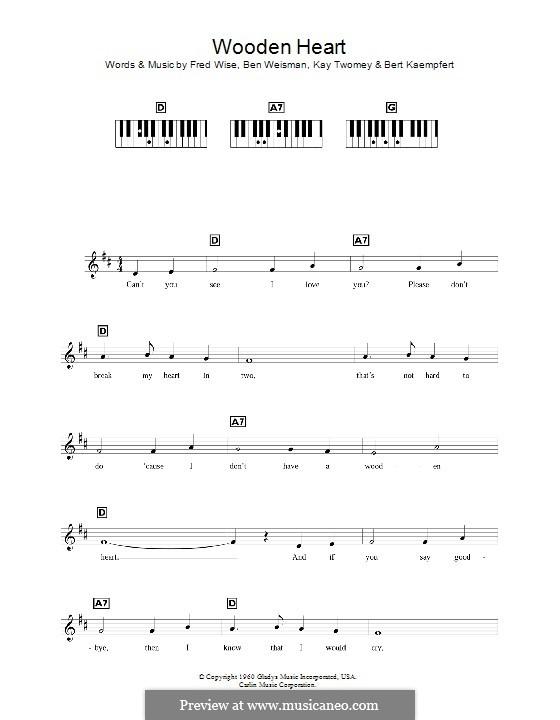 World We Knew (Over and Over): para teclado by Ben Weisman, Bert Kaempfert, Fred Wise, Kay Twomey