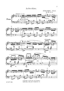 May in Tuscany, Op.21: Para Piano by Ethelbert Woodbridge Nevin