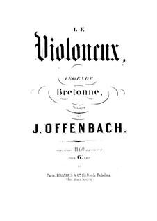 Le violoneux: Partitura Piano-vocal by Jacques Offenbach