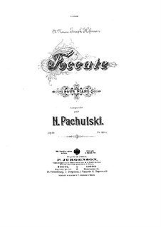 Toccata, Op.19: Toccata by Henryk Pachulski